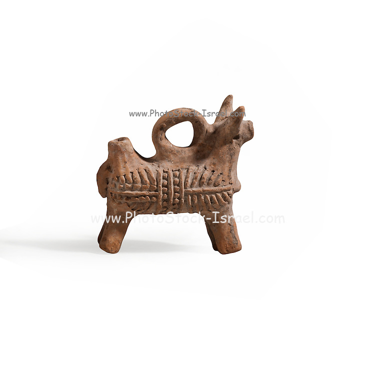 Zoomorphic terracotta vessel Byzantine period 5-7th century CE (private collection)