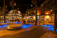 The Corso, a pedestrian street in the beach community of Manly, a suburb of Sydney, New South Wales, Australia
