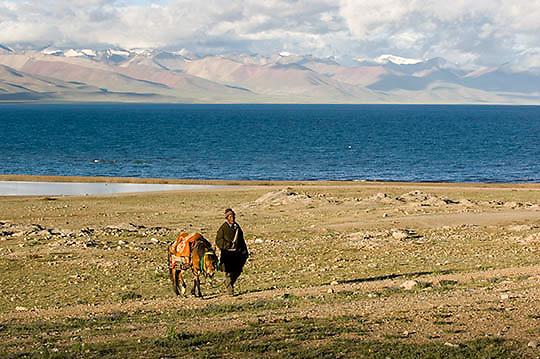 Mountain village locall Tibetan.