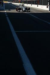 06.09.2014, Autodromo di Monza, Monza, ITA, FIA, Formel 1, Grand Prix von Italien, Qualifying, im Bild 06.09.2014, Autodromo di Monza, Monza, ITA, FIA, Formel 1, Grand Prix von Italien, Qualifying, im Bild Nico Rosberg (GER) Mercedes AMG F1 W05 // during the Qualifying of Italian Formula One Grand Prix at the Autodromo di Monza in Monza, Italy on 2014/09/06. EXPA Pictures © 2014, PhotoCredit: EXPA/ Sutton Images<br /> <br /> *****ATTENTION - for AUT, SLO, CRO, SRB, BIH, MAZ only*****
