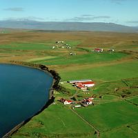Tannstaðabakki séð til norðausturs, Húnaþing vestra áður Staðarhreppur/ Tannstadabakki viewimng northeast, Hunathing vestra former Stadarhreppur.