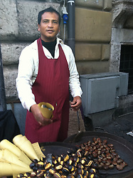 Dolce, biscotti, ternitalia, trastevere, italian gravy, chestnuts, castagne, trevi fountain, cone of chestnuts, enoteca, Roma, Milano, Formia, Guarrazzano, Italia the soul searching photo journey for me, Jackie Neale Chadwick. Photograph by © 2011 Jackie Neale Chadwick