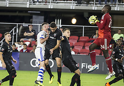 September 29, 2018 - Washington, District of Colombia, USA - Washington, DC. - Saturday, September 29, 2018: D.C United defeated the Montreal Impact 5-0 in a MLS match at Audi Field. (Credit Image: © Tony Quinn/ISIPhotos via ZUMA Wire)