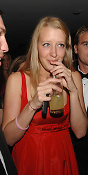 ALICE ROTHSCHILD at the 2008 Boodles Boxing Ball in aid of the charity Starlight held at the Royal Lancaster Hotel, London on 7th June 2008.<br /> <br /> NON EXCLUSIVE - WORLD RIGHTS