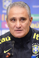 Brazil Training Session and Press Conference - 13 November 2017