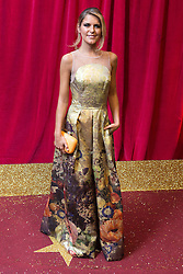© Licensed to London News Pictures . 16/05/2015 .  The Palace Hotel , Manchester , UK . GEEMMA OATEN . The red carpet at the 2015 British Soap Awards , The Palace Hotel , Oxford Road , Manchester . Photo credit : Joel Goodman/LNP