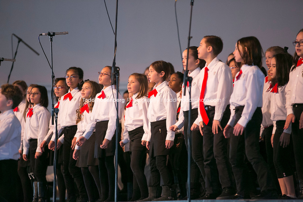 2/10/16 12:22:07 PM <br /> Chicago Children's Choir Black History Month Navy Pier Celebration. <br /> <br />  &copy; Todd Rosenberg Photography 2016