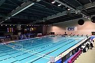 Panoramica vista della Piscina. Panoramic view of the pool <br /> Trieste 15/01/2019 Centro Federale B. Bianchi <br /> Women's FINA Europa Cup 2019 water polo<br /> Italy ITA - Nederland NED <br /> Foto Andrea Staccioli/Deepbluemedia/Insidefoto