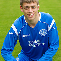 St Johnstone Photocall, Season 2010-11<br /> Murray Davidson<br /> Picture by Graeme Hart.<br /> Copyright Perthshire Picture Agency<br /> Tel: 01738 623350  Mobile: 07990 594431