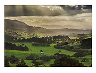 Wheki Valley towards the Maungaru Range<br /> <br /> PRINT:<br /> A4 - $115 (with white matt)<br /> A3 - $175<br /> A2 - $245<br /> <br /> FRAMED PRINT<br /> A4 - $225<br /> A3 - $460<br /> A2 - $560<br /> <br /> <br /> Contact Alan to order through the contact tab above, or at info@alansquires.co.nz<br /> <br /> N.B.<br /> All prints are signed and numbered.<br /> P&P - free within Whangarei District.<br /> The wood frames come in black or white.<br /> All black and white prints are made on archival cotton rag paper (360gsm).<br /> All colour prints are on Luster paper (260gsm).