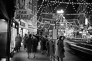 Christmas Decorations, Grafton Street.09.12.1961