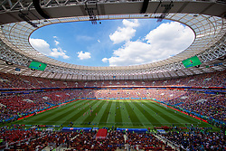 MOSCOW, RUSSIA - Tuesday, June 26, 2018: A general view during the FIFA World Cup Russia 2018 Group C match between Denmark and France at the Luzhniki Stadium. (Pic by David Rawcliffe/Propaganda)