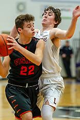 20190121 LeRoy v Fisher boys basketball photos