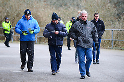 Bristol Rovers arrive at Home Park stadium as it snows before the game against Plymouth Argyle - Mandatory by-line: Dougie Allward/JMP - 17/03/2018 - FOOTBALL - Home Park - Plymouth, England - Plymouth Argyle v Bristol Rovers - Sky Bet League One