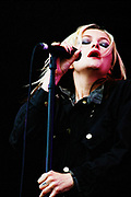 Alison Goldfrapp performs at Move 2003 Manchester