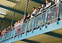 UTRECHT - Hoofdklasse Zaalhockey: publiek tijdens de wedstrijd tussen de vrouwen van Den Bosch en SCHC.  FOTO KOEN SUYK
