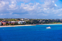 Arriving by ship in Nassau, The Bahamas