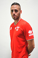 Thomas RENAULT - 16.09.2014 - Photo officielle Nimes - Ligue 2 2014/2015<br /> Photo : Icon Sport