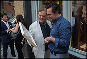 TIM OLSEN; JEFFREY WALKOWIAK, Dinosaur Designs launch of their first European store in London. 35 Gt. Windmill St. 18 September 2014