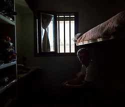 Sant Joan de Vilatorrada, Barcelona, Spain. Ramon in his cell of the prison Lledoners ©Carmen Secanella