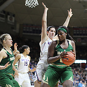 STORRS, CONNECTICUT- NOVEMBER 17: Kalani Brown #21 of the Baylor Bears is defended by Natalie Butler #51 of the UConn Huskies during the UConn Huskies Vs Baylor Bears NCAA Women's Basketball game at Gampel Pavilion, on November 17th, 2016 in Storrs, Connecticut. (Photo by Tim Clayton/Corbis via Getty Images)