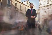 Gianpaolo Scarante – Presidente Ateneo Veneto, ex ambasciatore d' Italia in Grecia e Turchia. San Moisè. 10/10/18 15:33:24