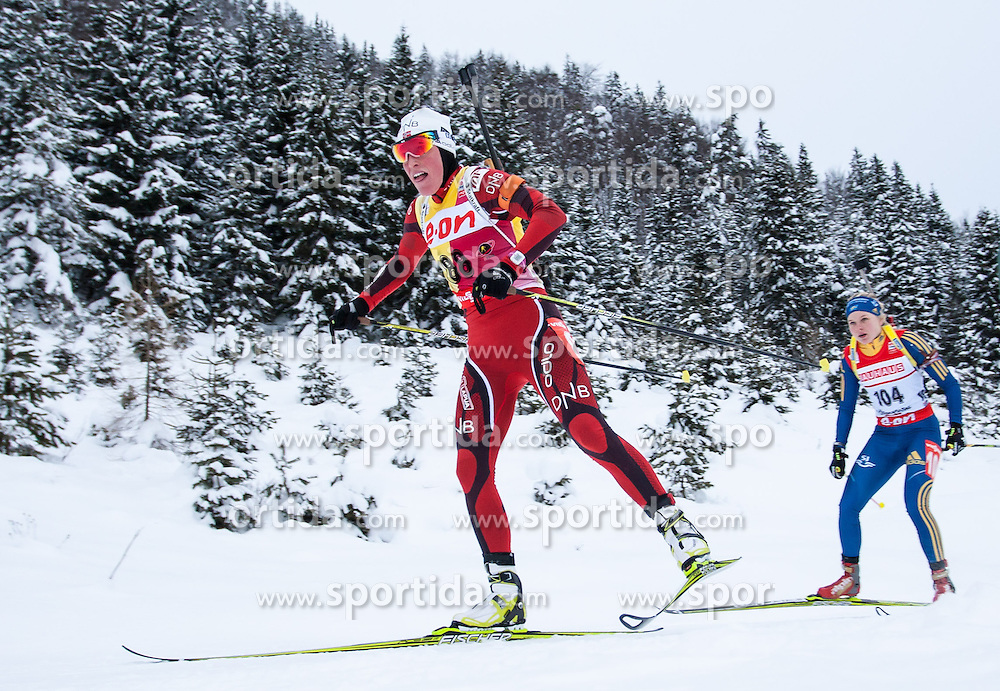 07.12.2012, Biathlonarena, Hochfilzen, AUT, E.ON IBU Weltcup, Sprint, Damen, im Bild Tora Berger (NOR) // Tora Berger of Norway // during #Womens sprint of E.ON IBU Biathlon World Cup at the Biathlonstadium in Hochfilzen, Austria on 2012/12/07. EXPA Pictures © 2012, PhotoCredit: .EXPA/ Juergen Feichter