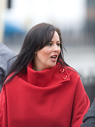 © under license to London News Pictures. 20/01/2011. Allison Cox arriving at Guildford Crown Court today (20/01/2011) to face charges  of poisoning Ann Summers boss Jacqueline Gold by putting screenwash in her food. Cox, who was a nanny for the underwear tycoon's baby daughter, allegedly laced her employer's soup with the fluid.Cox pleaded guilty to the charges at a later court appearance. Photo credit should read:London News Pictures.