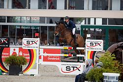 OPLATEK Andrzej (POL), El Camp<br /> Hagen - Horses and Dreams meets the Royal Kingdom of Jordan 2018<br /> Finale Mittlere Tour<br /> 29. April 2018<br /> www.sportfotos-lafrentz.de/Stefan Lafrentz