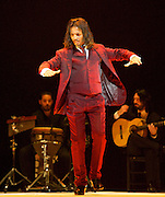 Flamenco Festival London 2014 <br /> <br /> Farruquito <br /> <br /> at Sadler's Wells, London, Great Britain <br /> <br /> Improvisao<br /> <br /> press photocall<br /> 14th March 2014 <br /> <br /> Juan Manuel Fernandez Montoya 'Farruquito' <br /> <br /> Photograph by Elliott Franks