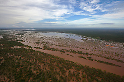 Flooding beside the Fitzroy River near Willare