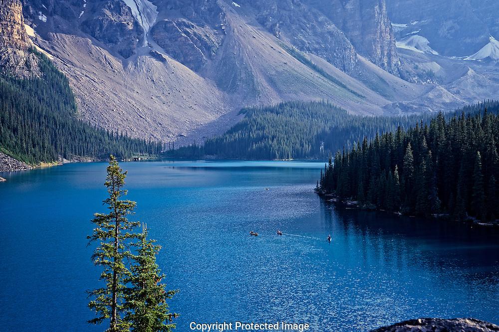 Moraine Lake., Alberta, canada, Isobel Springett