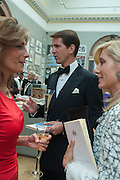 MARYAM SACHS; PRINCE PAVLOS OF GREECE; PRINCESS AMRIE-CHANTAL OF GREECE, Royal Academy of Arts Annual dinner. Piccadilly. London. 29 May 2012.