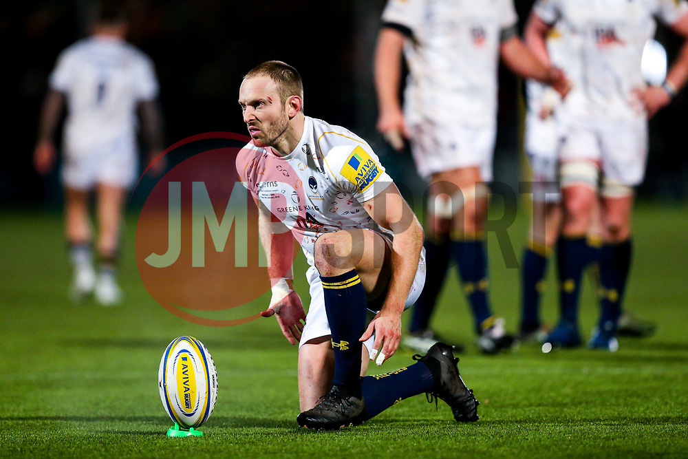 Chris Pennell of Worcester Warriors - Rogan/JMP - 05/01/2018 - RUGBY UNION - Sixways Stadium - Worcester, England - Worcester Warriors v Bath Rugby - Aviva Premiership.