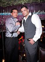NEW YORK, NY - APRIL 13:  Carmine Agnello Jr. & Frank Gotti Agnello attend Frank Gotti's 21st birthday celebration at Greenhouse on April 13, 2011 in New York City.  (Photo by Dave Kotinsky/Getty Images)