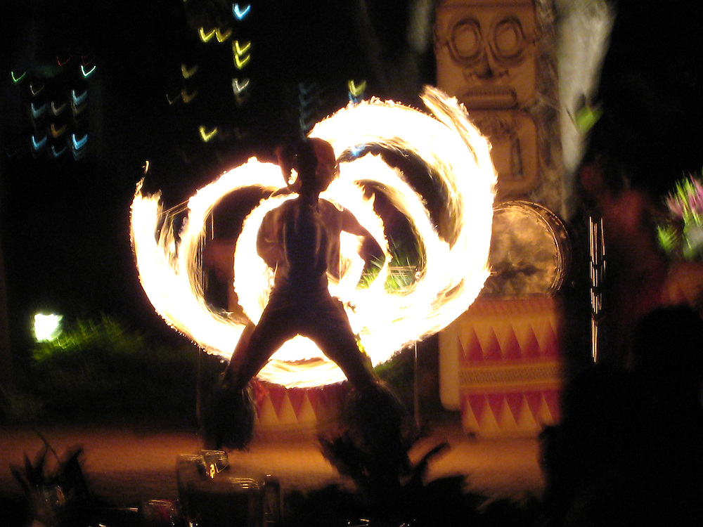 Native dance, Guam, 2007.