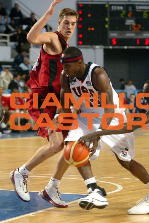 DESCRIZIONE : MAR DEL PLATA FIBA UNDER 21 WORLD CHAMPIONSHIP FOR MEN CAMPIONATO DEL MONDO UNDER 21 MASCHILE<br />GIOCATORE : WITHERS<br />SQUADRA : USA<br />EVENTO : UNDER 21 WORLD CHAMPIONSHIP FOR MAN CAMPIONATO DEL MONDO UNDER 21 MASCHILE<br />GARA : CANADA-USA<br />DATA : 12/08/2005<br />CATEGORIA : Palleggio<br />SPORT : Pallacanestro<br />AUTORE : AGENZIA CIAMILLO &amp; CASTORIA/M.Ciamillo