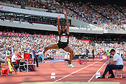 Shara Proctor GBR in the Long Jump Women during the Muller Anniversary Games at the Stadium, Queen Elizabeth Olympic Park, London, United Kingdom on 23 July 2016. Photo by Phil Duncan.