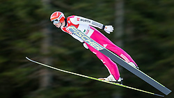 19.12.2014, Nordische Arena, Ramsau, AUT, FIS Nordische Kombination Weltcup, Skisprung, PCR, im Bild Eric Frenzel (GER) // during Ski Jumping of FIS Nordic Combined World Cup, at the Nordic Arena in Ramsau, Austria on 2014/12/19. EXPA Pictures © 2014, EXPA/ JFK