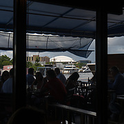 MIAMI, FLORIDA, JUNE 28, 2017<br /> Garcia's seafood restaurant along the Miami River near  the proposed new soccer stadium planned for the David Beckham group in a nearby parcel in Overtown. <br /> (Photo by Angel Valentin/Freelance)