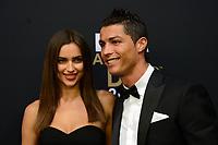 Zuerich, 7.1.2013, FIFA Ballon d'Or 2012, Irina Shayk und Cristiano Ronaldo (Melanie Duchene/EQ Images)