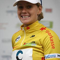 Emma Johansson yellow jersey Thueringen Rundfahrt der Frauen