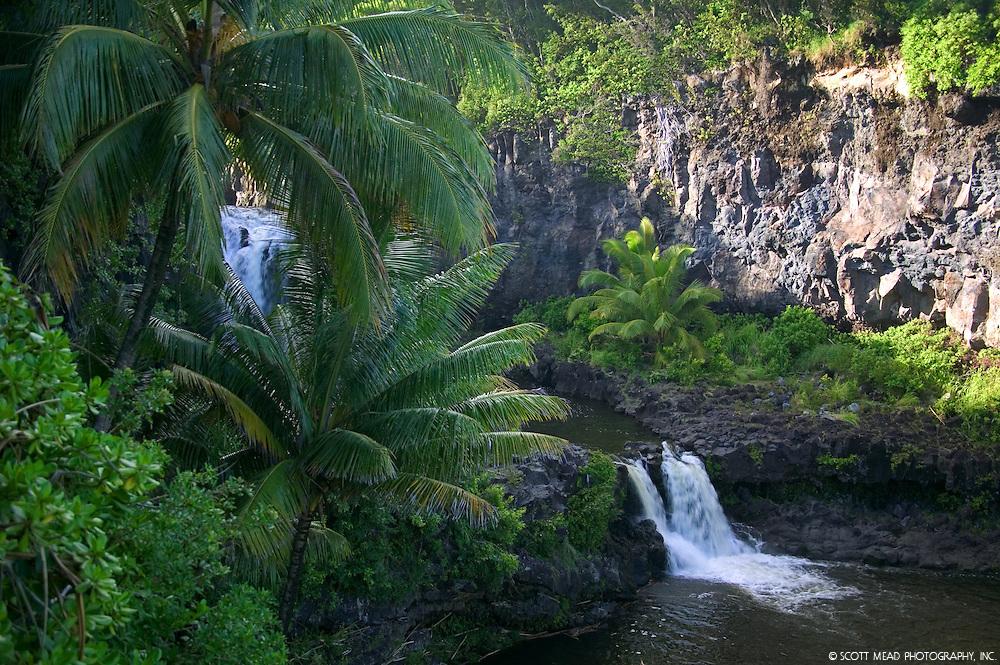 Seven Sacred Pools, Oheo, located in Hana, Maui, Hawaii