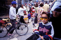 Nepal - Vallée de Kathmandu - Kathmandu - Rue d'Asan Tole