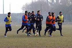 ALLENAMENTO SPAL 24-01-2012: LA SQUADRA AL LAVORO