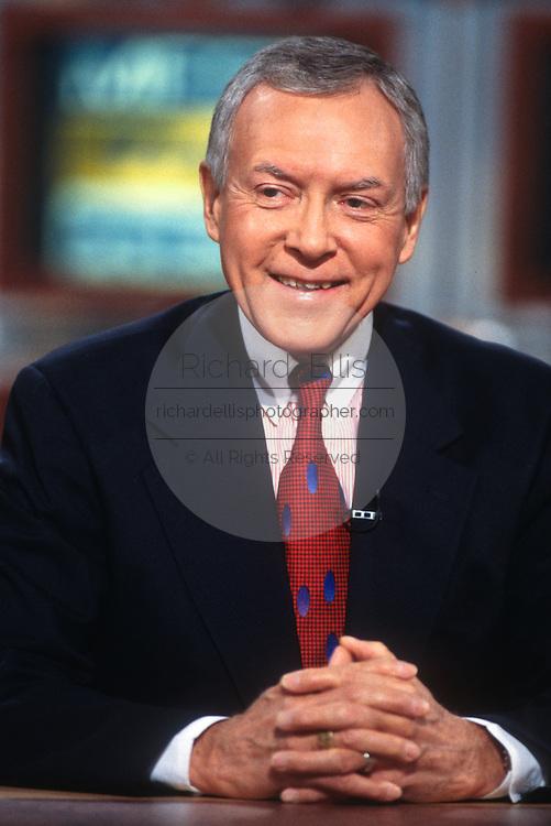"WASHINGTON, DC - September 21: Senator Orrin Hatch on ""Meet The Press"" in Washington, DC. September 21, 1997  (Photo RIchard Ellis)"