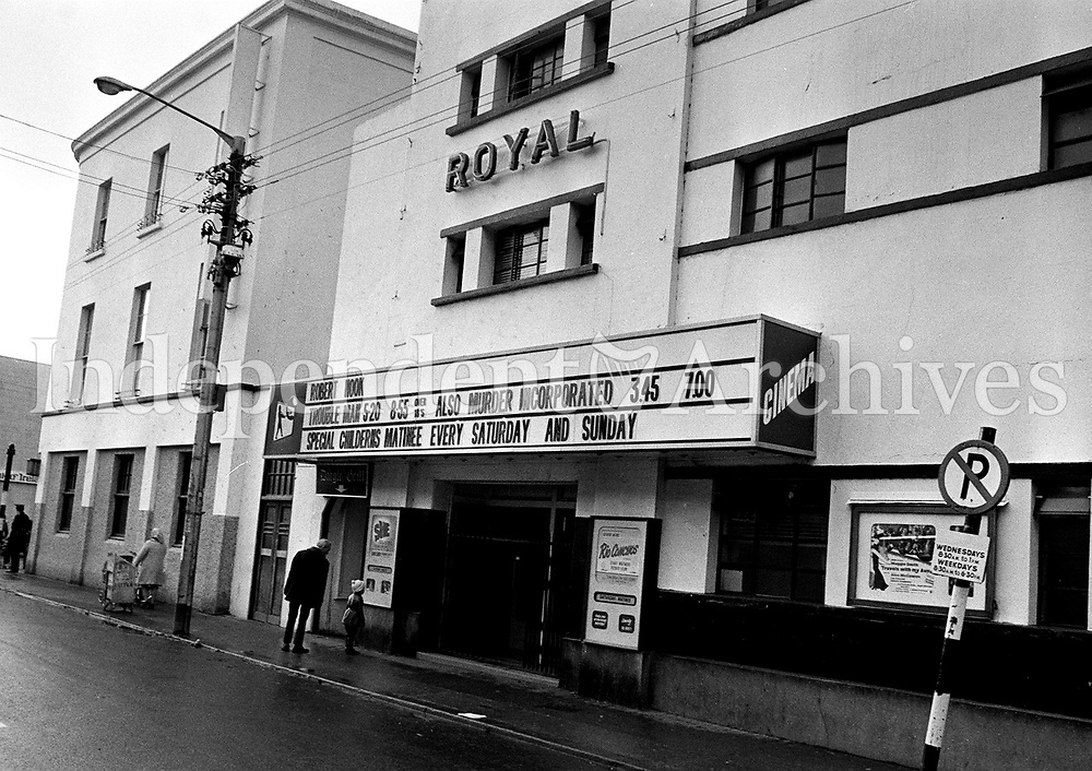 Royal Cinema in Bray, County Dublin in 1973. (Part of the Independent Newspapers Ireland/NLI Collection)