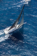 Leopard sailing race 2 at Antigua Sailing Week.