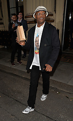 Actor Samuel L. Jackson attends The London 2014 Stella McCartney Green Carpet Collection during London Fashion Week at The Royal British Institute in London, UK. 14/09/2014<br />BYLINE MUST READ : GOTCHAIMAGES.COM<br /><br />Copyright by © Gotcha Images Ltd. All rights reserved.<br />Usage of this image is conditional upon the acceptance <br />of Gotcha Images Ltd, terms and conditions available at<br />www.gotchaimages.com