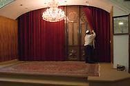 Tehran, Iran. September 13, 2007- The Torah is kept secure behind the doors.